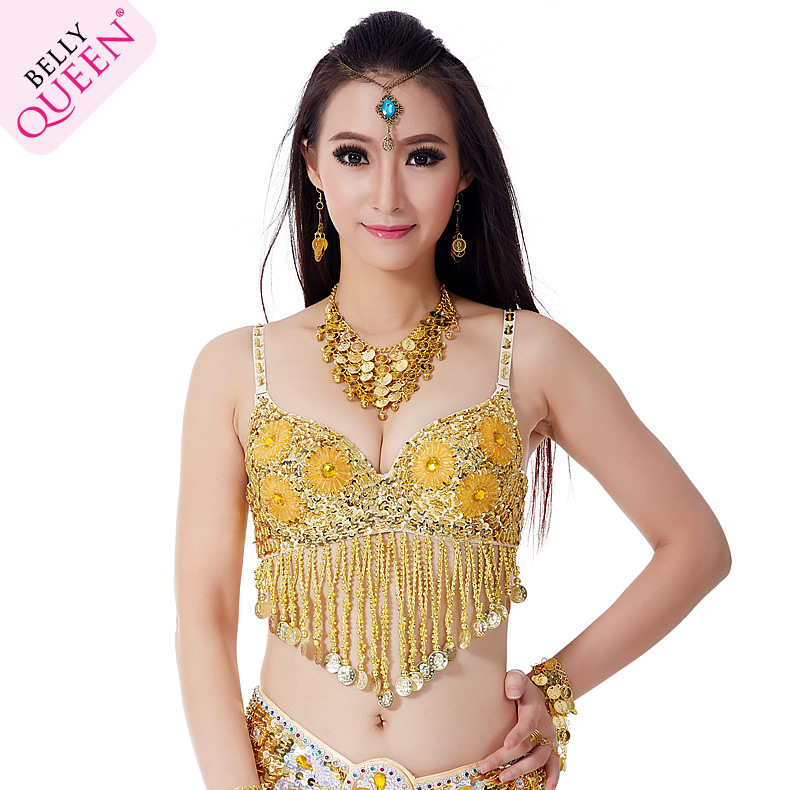 Plus Size Dancewear Polyester Belly Dance Bra For Ladies