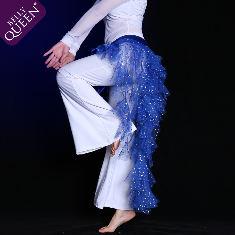 Dancewear Polyester Belly Dance Hip Scarf More Colors