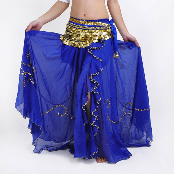 Performance Chiffon Belly Dance Skirt