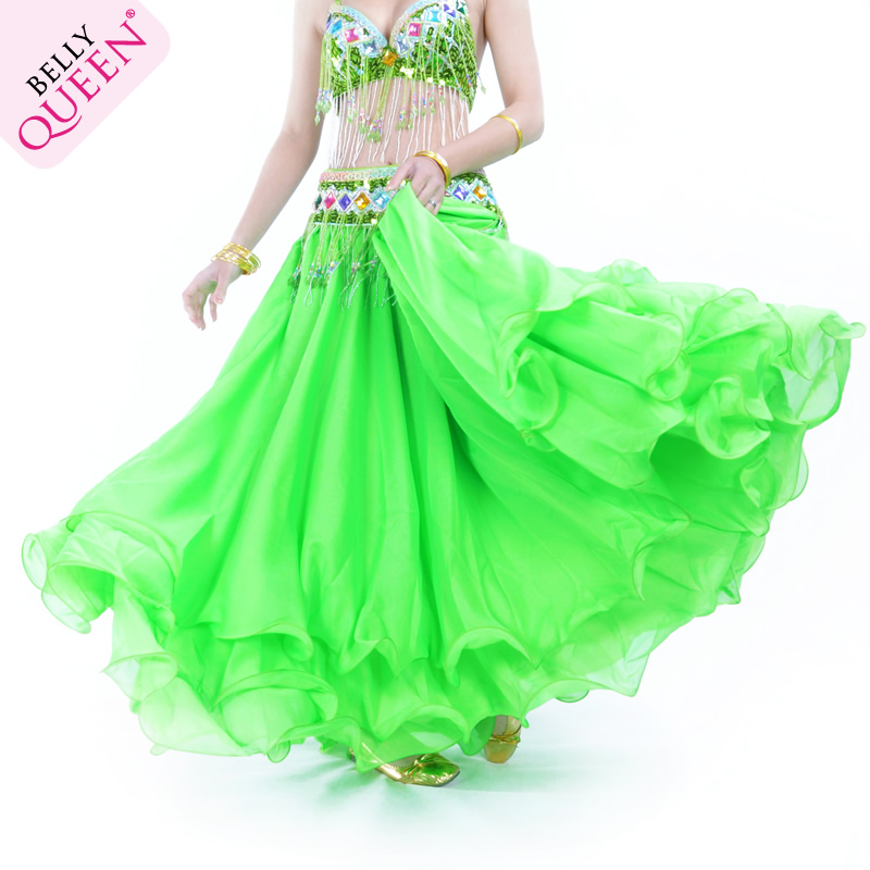 Wholesale Performance Three Layer Chiffon Belly Dance Skirt