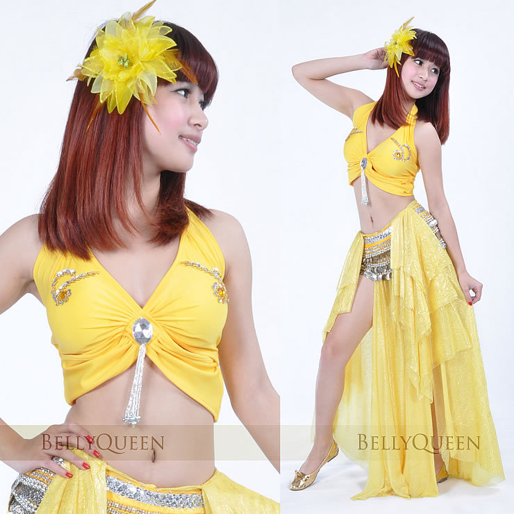 DanceWear Polyester Belly Dance Tops More Colors