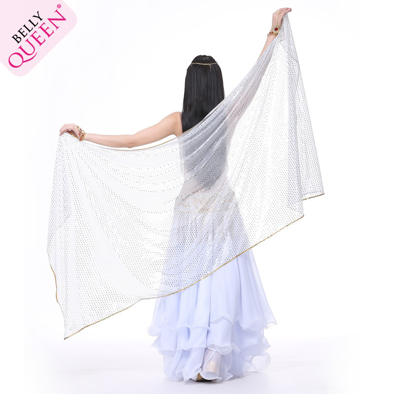 Dancewear Chiffon Belly Dance Veil For Ladies