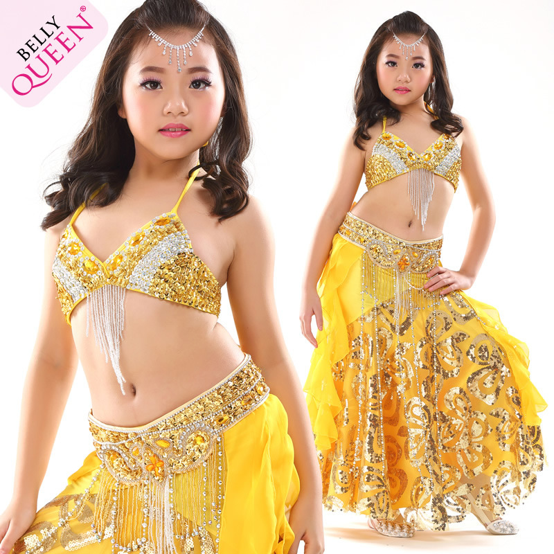 SEO_COMMON_KEYWORDS Dancewear Polyester Belly Dance Costumes For Kids