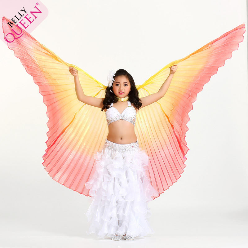 Dancewear Polyester Belly Dance Isis Wing For Kids More Colors