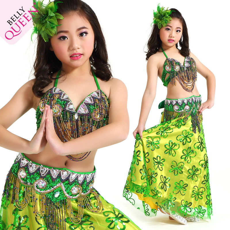 Dancewear Polyester Belly Dance Costumes For Kids