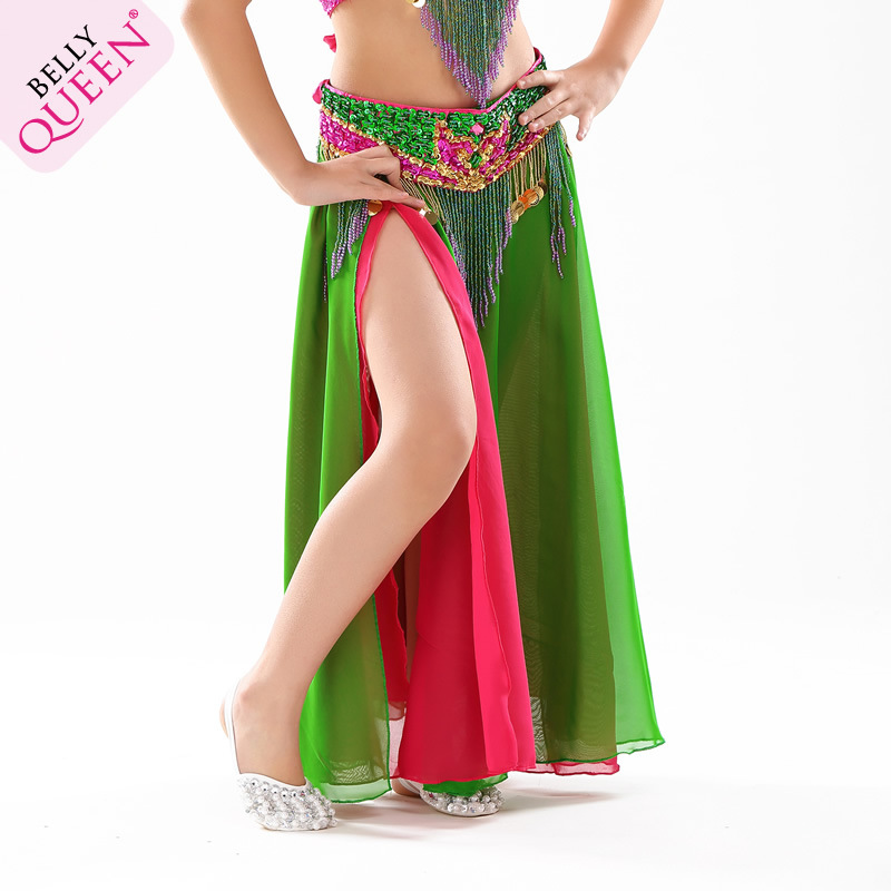 Dancewear Kids Belly Dance Skirt With Slit More Colors