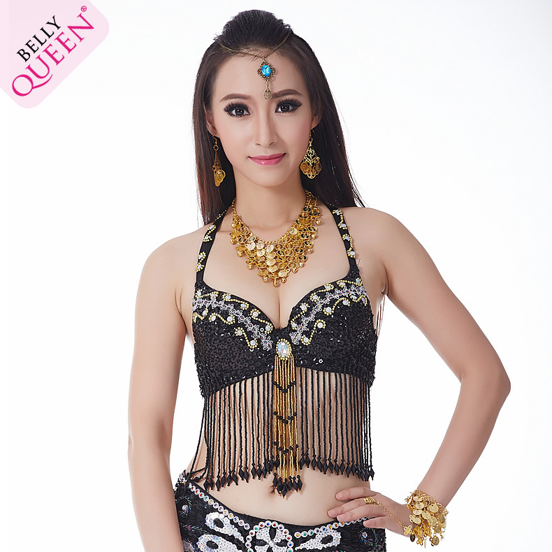 Dancewear Polyester Belly Dance Bra For Ladies More Colors