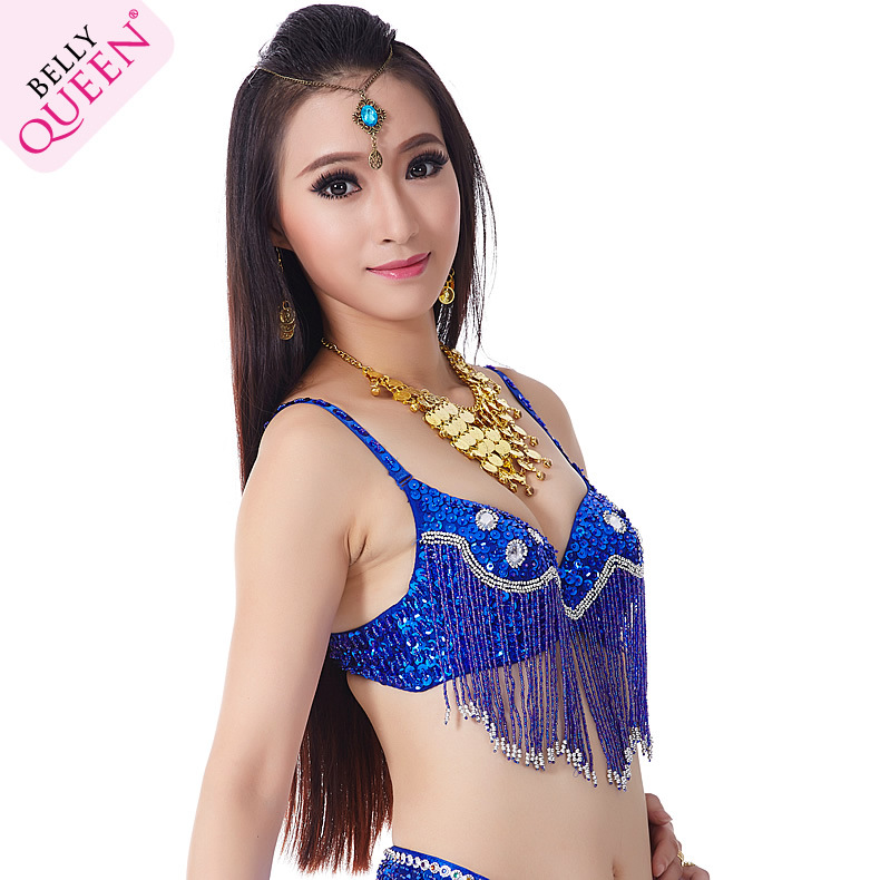 Dancewear Polyester Belly Dance Performance bra For Ladies