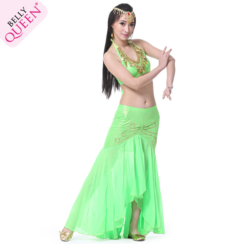 Dancewear Chiffon Belly Dancing Costumes For Ladies More Colors