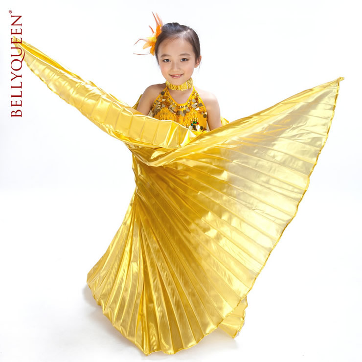 SEO_COMMON_KEYWORDS Dancewear Polyester Belly Dance Isis Wing For Kids More Colors