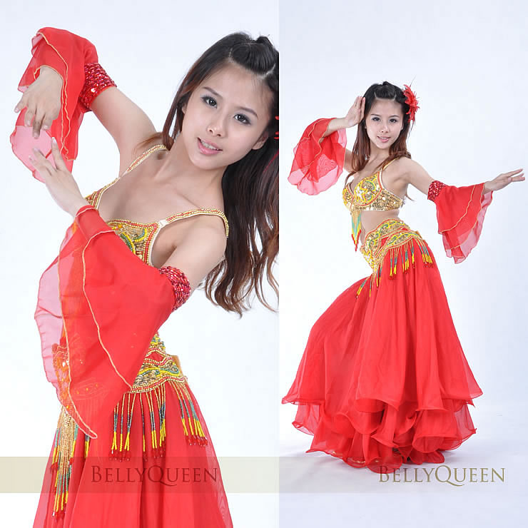 Dancewear Polyester Belly Dance Sleeves 1 Pair More colors