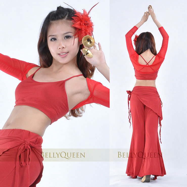 Dancewear Polyester Belly Dance Sleeves For Ladies