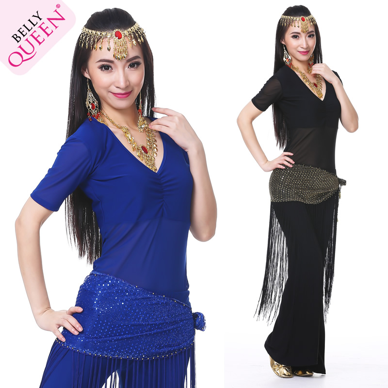 3 Pcs Dancewear Polyester Belly Dance Costumes For Ladies More Colors