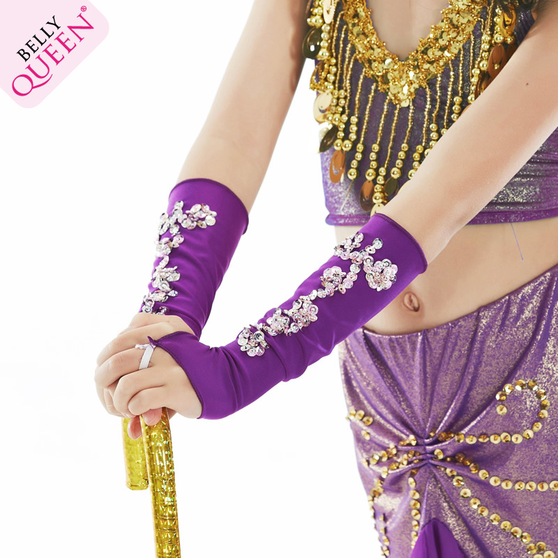 Dancewear Belly Dance Performance Gloves For Kids