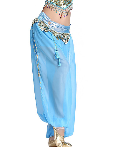 Dancewear Chiffon Belly Dance Pants For Ladies