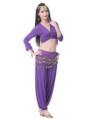 Dancewear Polyester Belly Dancer Costume For Ladies