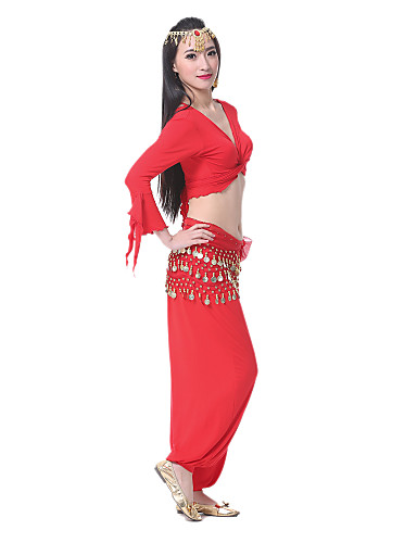 Dancewear Polyester Belly Dance Costume For Ladies