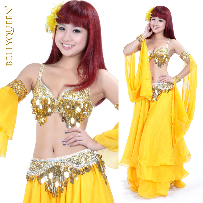 Plus Size Dancewear Polyester Belly Dance Performance Costumes For Women