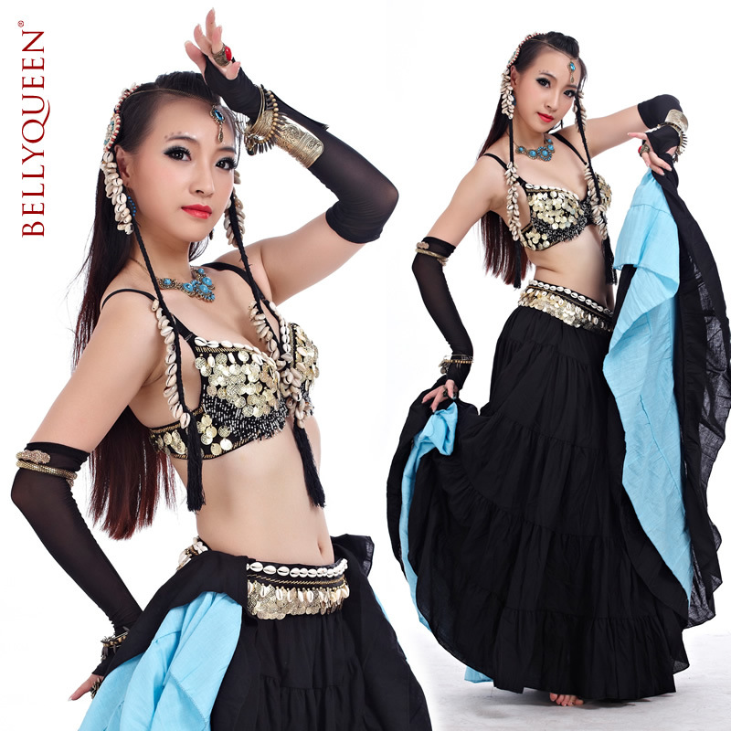 Dancewear Polyester Belly Dance Performance Costumes For Women More Colors