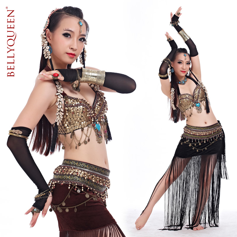 Dancewear Polyester Belly Dance Costumes For Women More Colors