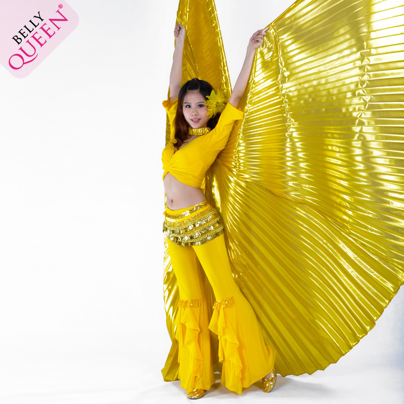 Dancewear Polyester Belly Dance Isis Wing More Colors