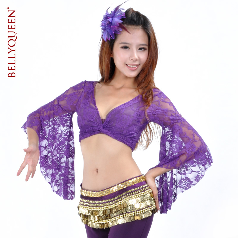 DanceWear Lace Belly Dance Tops More Colors
