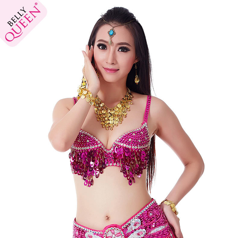 Plus Size Dancewear Polyester Belly Dance Bra For Ladies More Colors