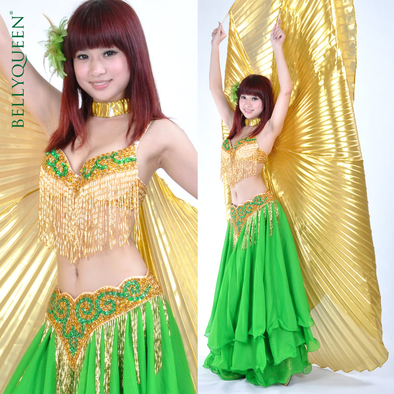 Dance Outfits Polyester Belly Dance Costumes For Ladies