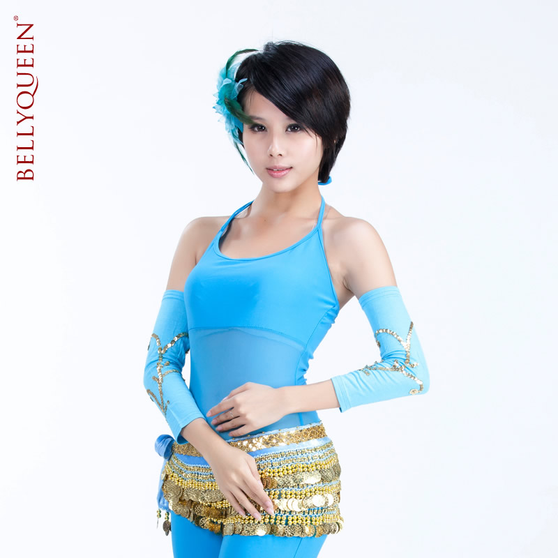 Dancewear Mercerized Cotton Belly Dance Sleeves 1 Pair More colors