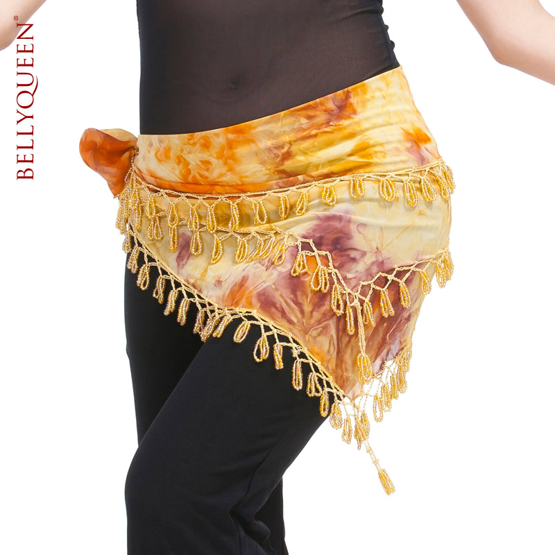SEO_COMMON_KEYWORDS Dancewear Polyester Belly Dance Performance Hip Scarf For Ladies
