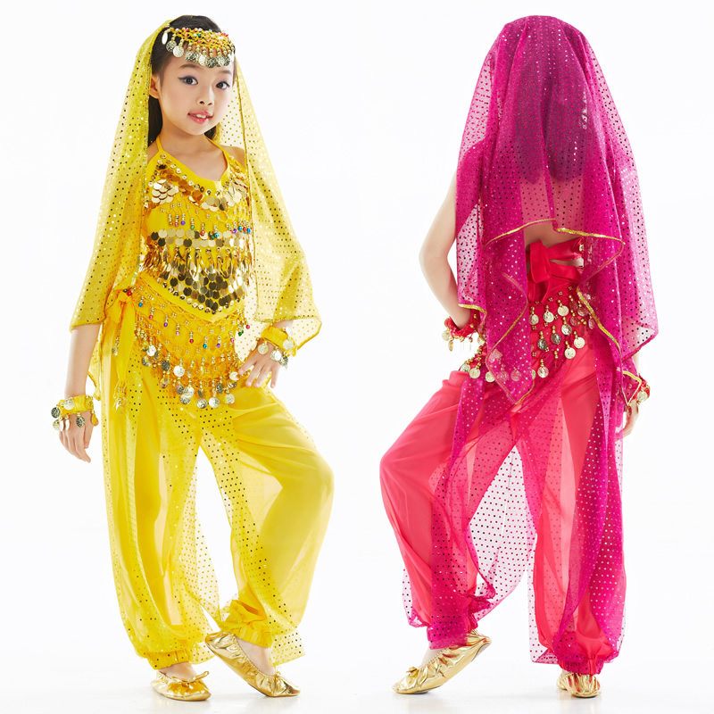 SEO_COMMON_KEYWORDS Dancewear Polyester Belly Dance Costumes For Children