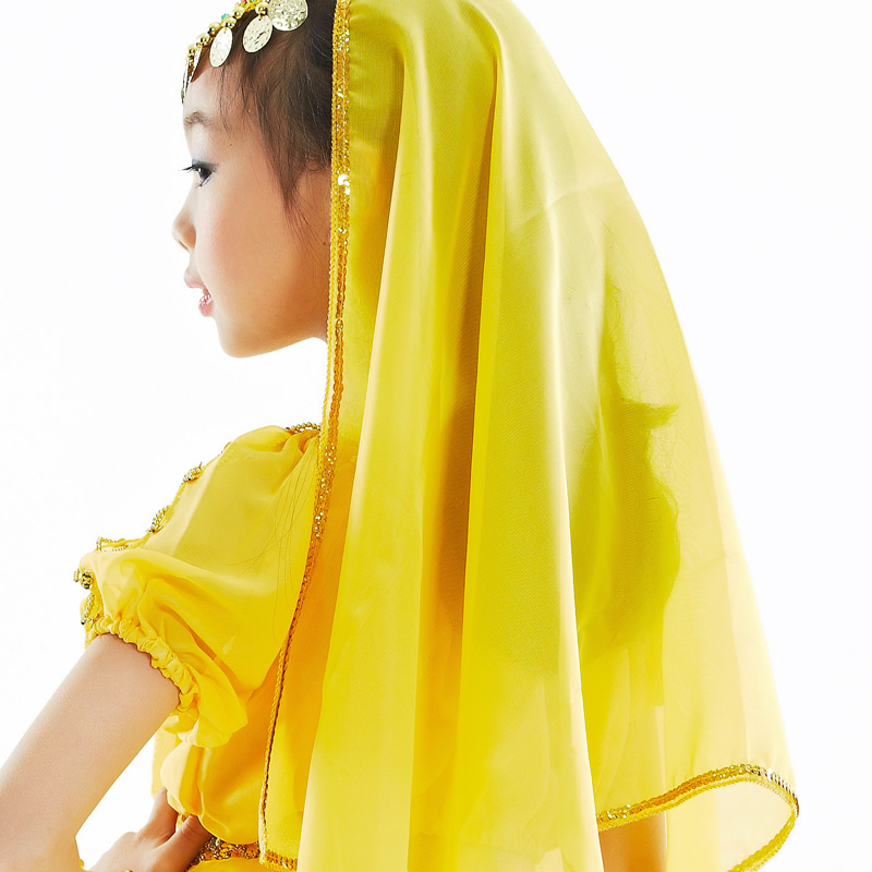 Dancewear Polyester Belly Dance Head Scarf For Children