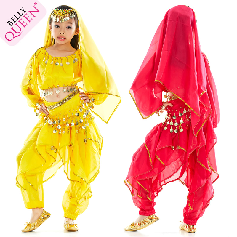 Dancewear Polyester Belly Dance Costumes For Children