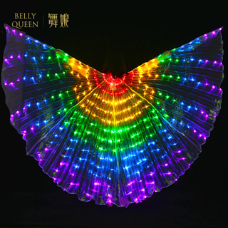 Led Belly Dance Isis Wing For Ladies