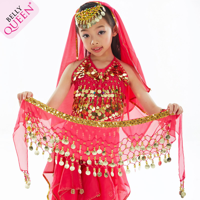 Kids Belly Dance Hip Scarf