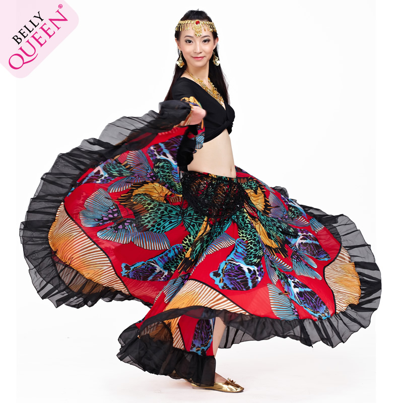 Performance Dancewear Chiffon Belly Dance Costumes More Colors