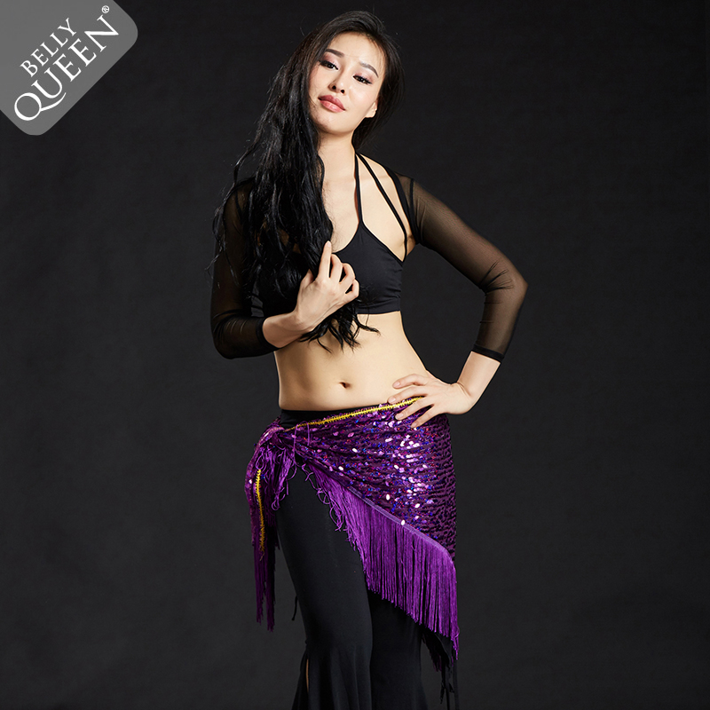 Belly Dance Hip Scarf For Ladies More Colors