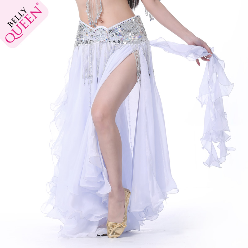 Performance Dancewear Chiffon Belly Dance Skirt More Colors