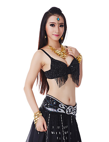3 Pieces Plus Size Dancewear Belly Dance Performance Costume