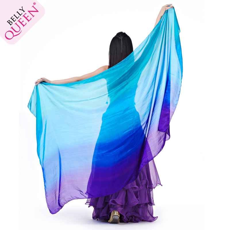 Dancewear Silk Belly Dance Veil For Women 200 cm*110cm