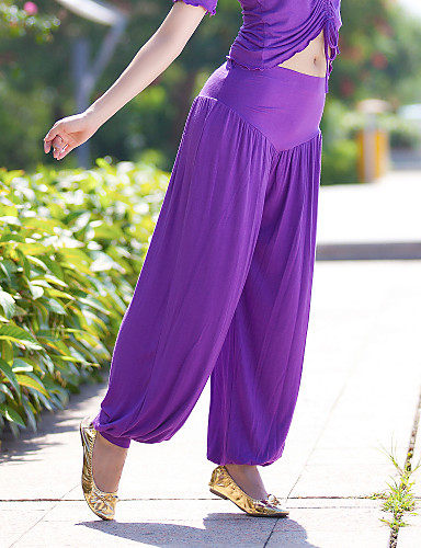 Dancewear Polyester Belly Dance Bottom For Ladies More Colors
