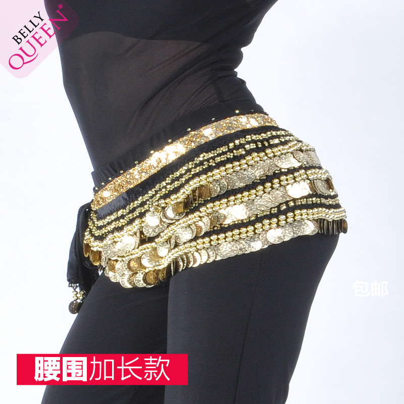 Plus Size Dancewear Velvet Belly Dance Belt For Ladies